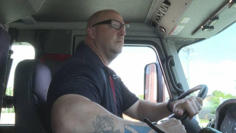 Senior Firefighter Brandon Barr, Meridian Fire Department