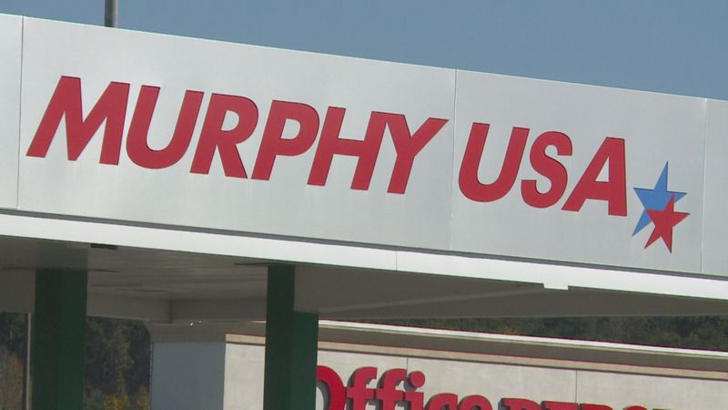 Suspicious package at Murphy USA gas station.