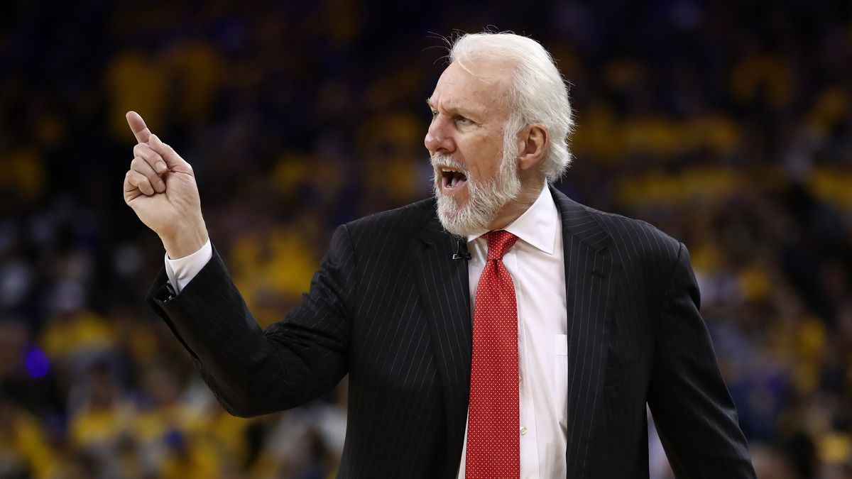 San Antonio Spurs Coach Gregg Popovich says America is a 'racist country'.