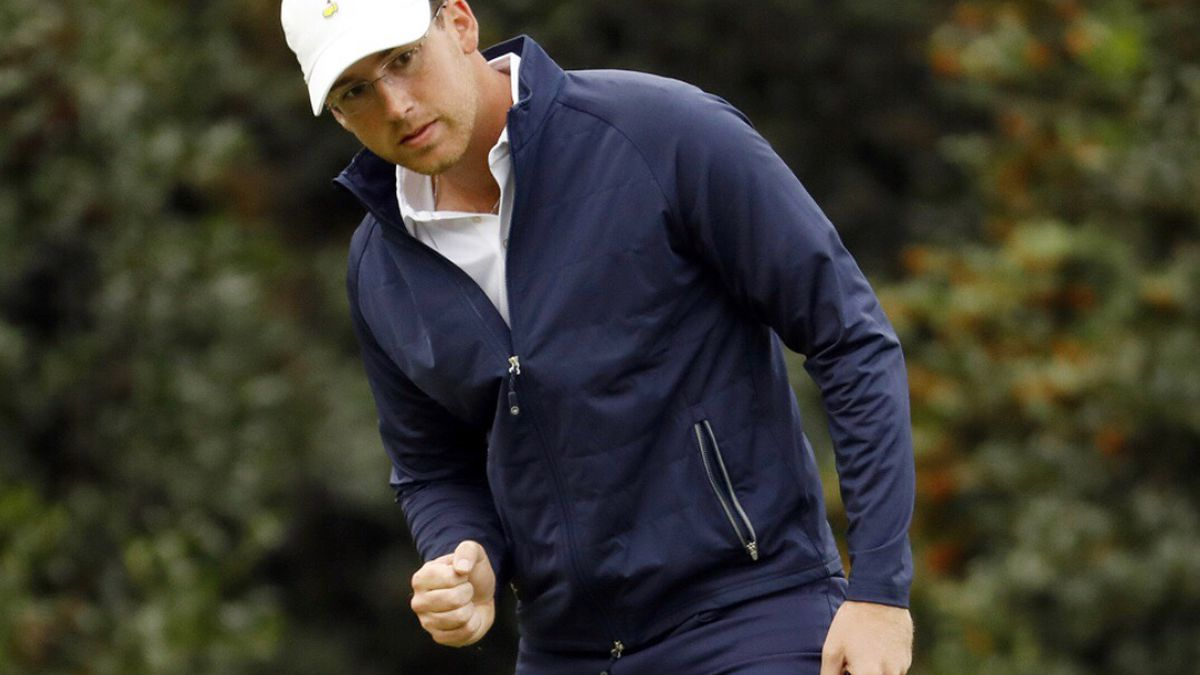 Union native Andy Ogletree at the 84th Masters