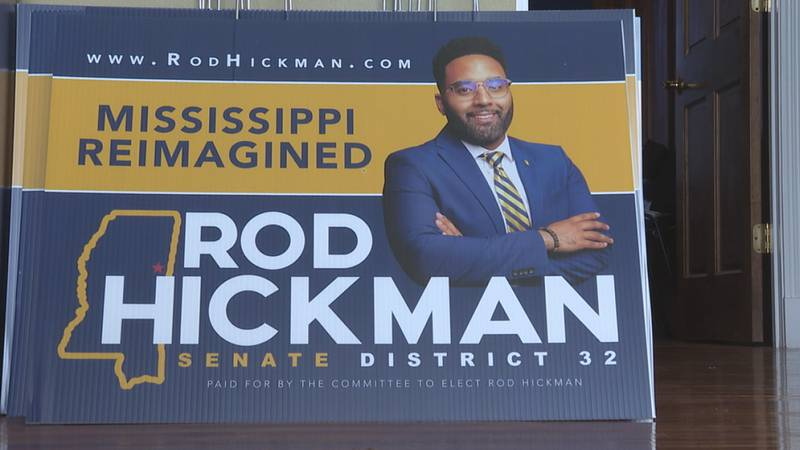 A special election for Mississippi Senate District 32 is just weeks away. Rod Hickman is just 1...