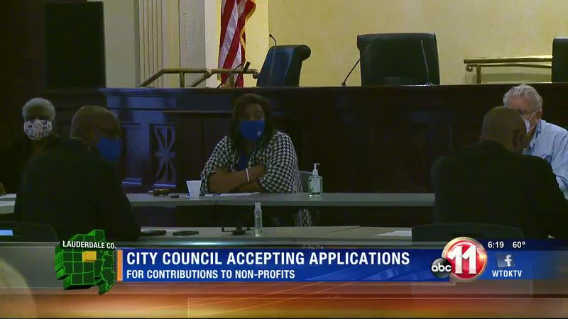Meridian City Council taking applications to help non-profits
