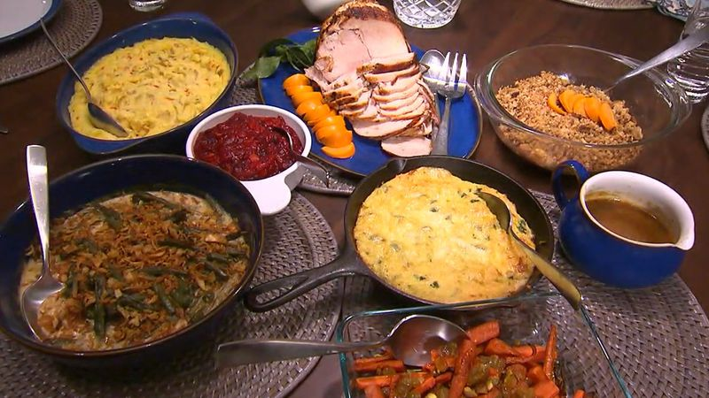 Some families will skip the traditional, big Thanksgiving dinner this year.
