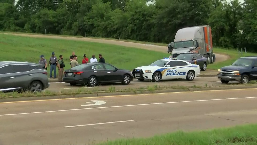A police chase involving a recently-released inmate ended in Jackson, Mississippi.