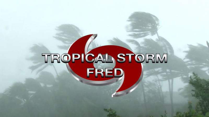 Tropical Storm Fred is now a tropical depression, but it can intensify again.