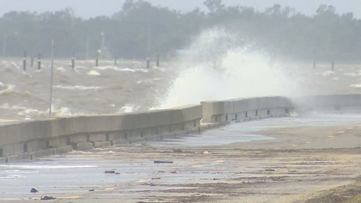 Wind and rain from Hurricane Sally are expected to cause problems for south Mississippi and southwest Alabama.