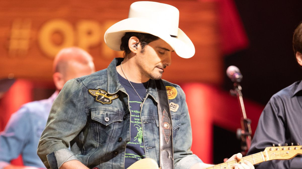 Brad Paisley is performing at the Grand Ole Opry on June 27.