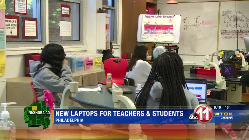 Philadelphia students get MacBook laptops