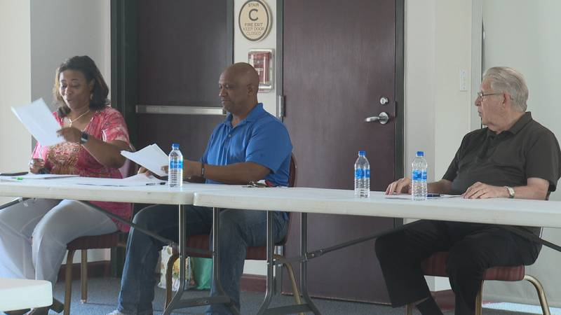 Dwayne Davis and George Thomas will be the only returning Meridian city council members.