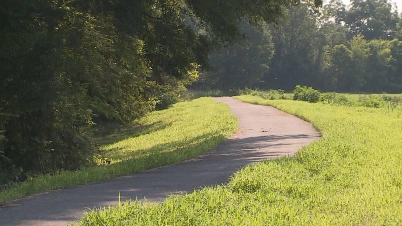 Sowashee Creek bike trail