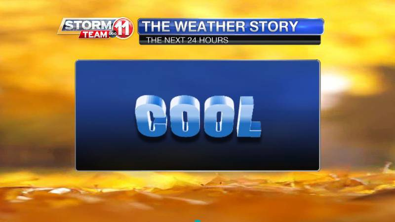 Fall-like chill will be most noticeable in the mornings, but even the afternoons will be...