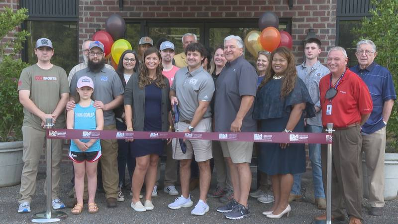 The Range at 601 held a ribbon-cutting Wednesday morning to mark the opening of their store...