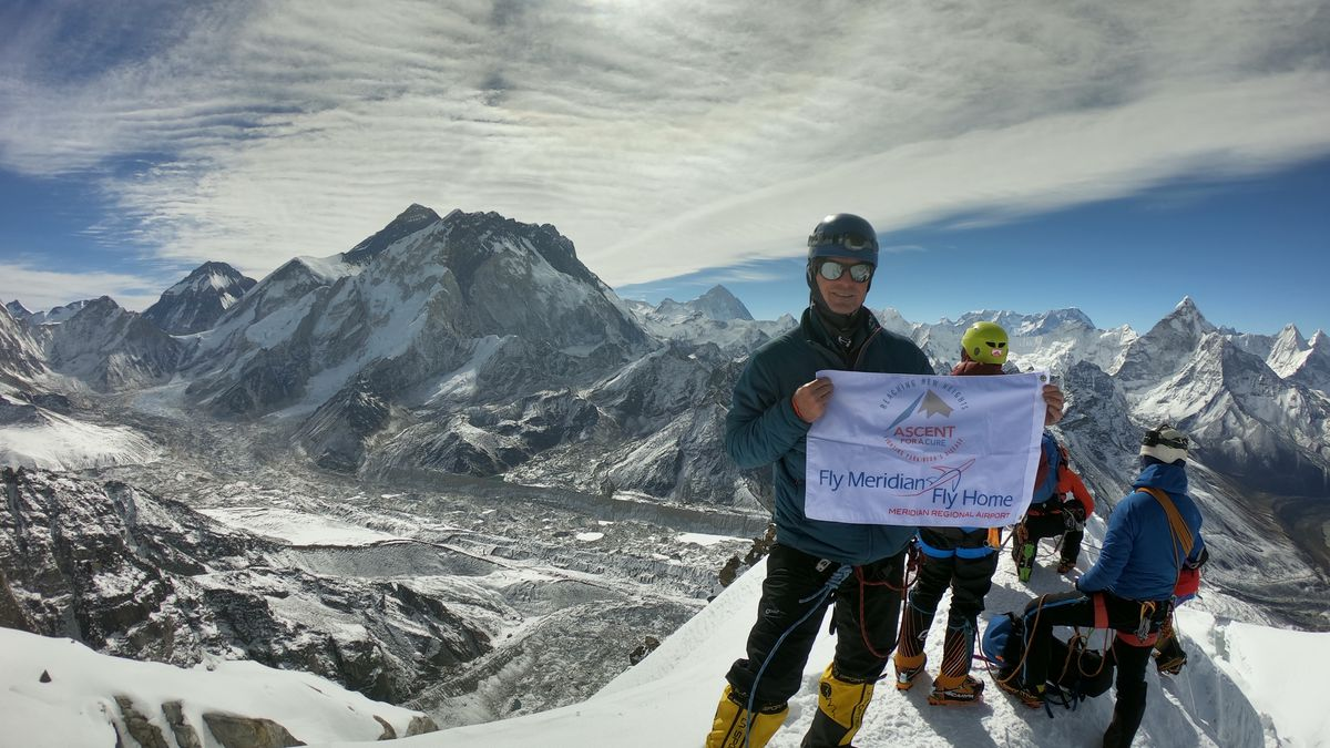 Hodges is the first person from Mississippi to attempt Mt. Everest.