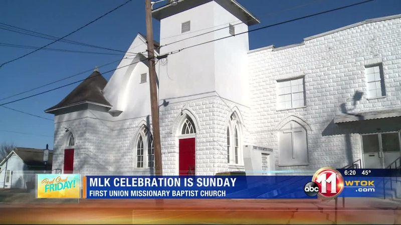 MLK service set for Sunday at historic Meridian church