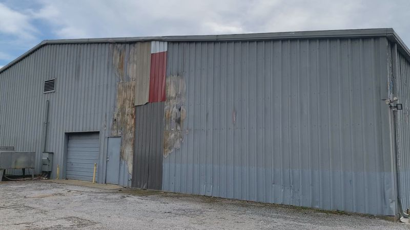 The city council discussed the latest plans for the repairs to the Frank Cochran Center at a...