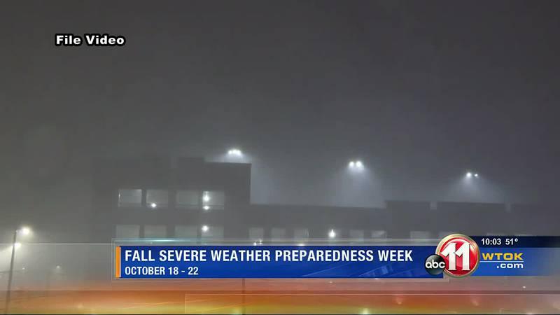 Fall Severe Weather Preparedness Week
