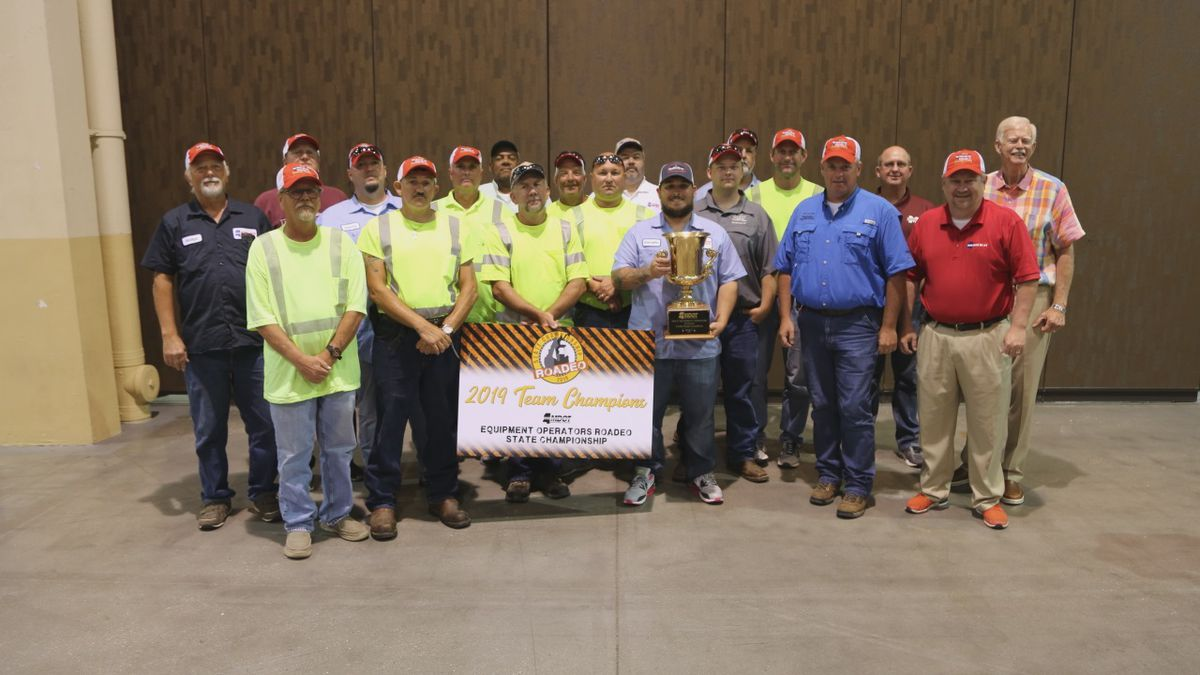 State Roadeo Team Champion – MDOT's District 5 Team from Newton (Source: Mississippi Dept. of Transportation)