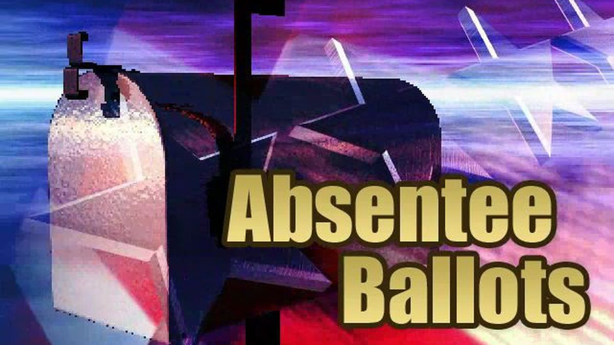 The deadline for in-person absentee voting is Saturday, Oct. 31, at 5 p.m.