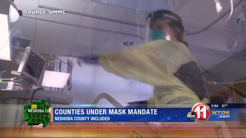 Neshoba Mask mandate