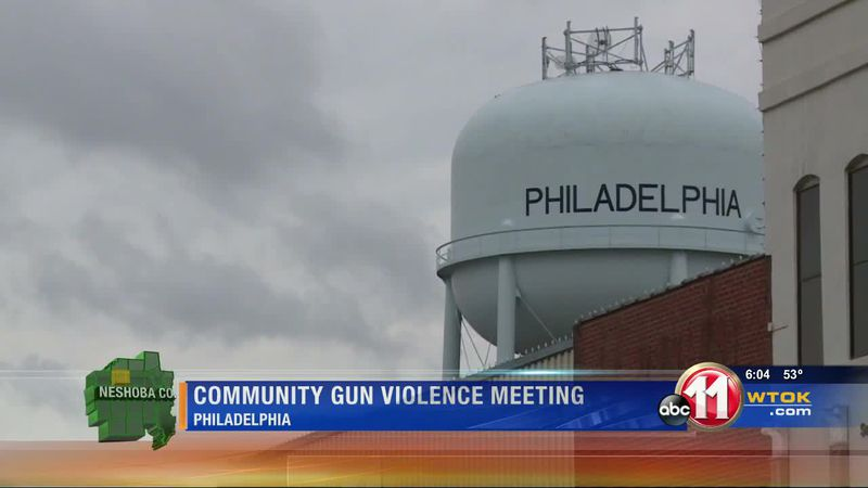 Community meets to stop gun violence
