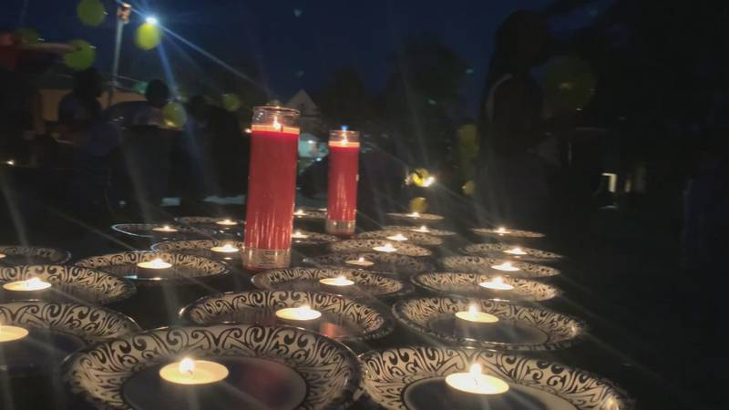 A local mother held a candlelight vigil to remember her son that was killed 6 years ago. The...