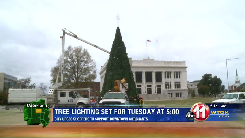 Meridian Christmas Tree lighting ceremony takes place Tuesday