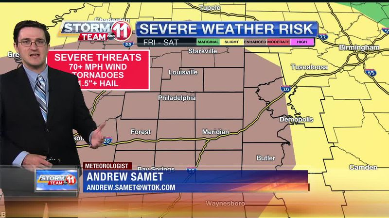 Today's Weather - Andrew Samet - April 8th, 2021