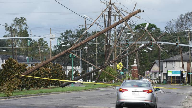 Before noon Sunday, Ida made landfall near Port Fourchon, Lousiana. as a category four...