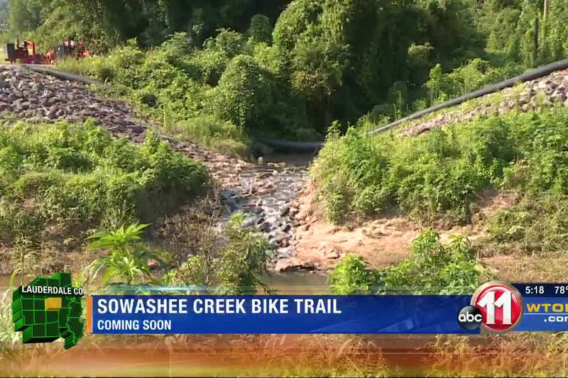 Sowashee Creek bike trail coming soon