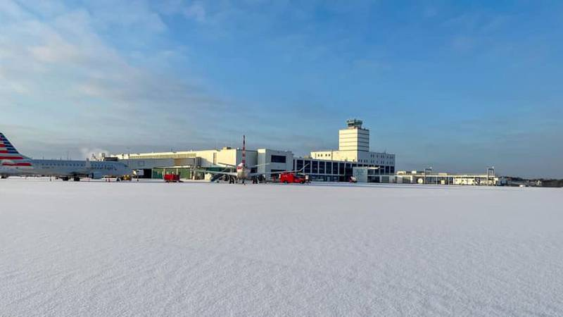 Jackson airport extends closure again, braces for storm moving in Wed. (Source: Jackson -...