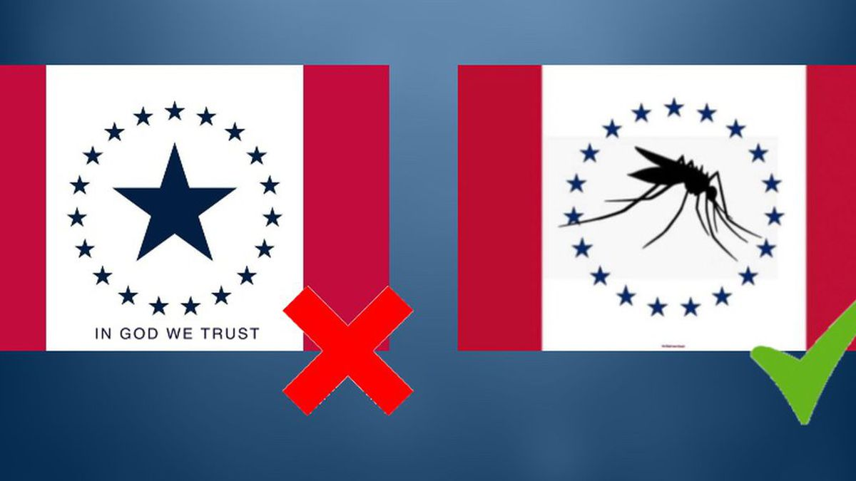 Hospitality Flag no longer in the running to become Mississippi's next flag (Source: Mississippi Flag Commission)