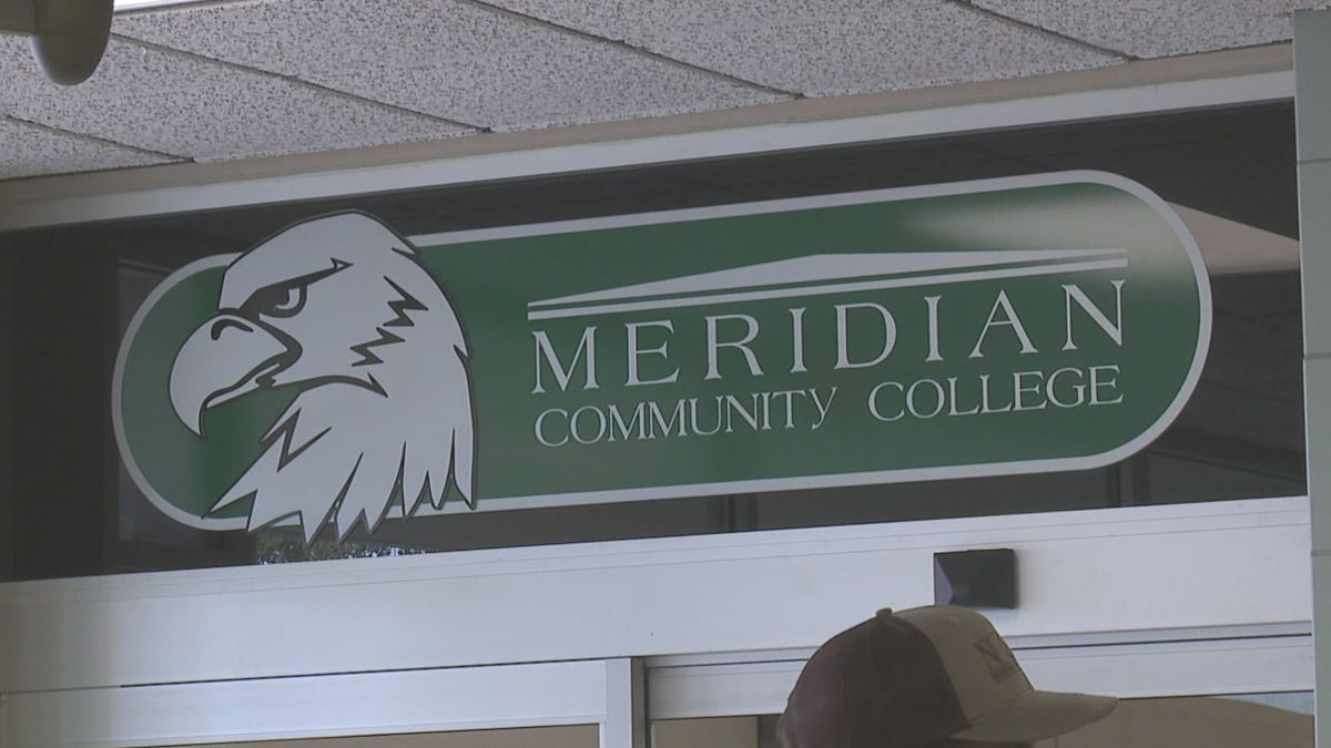 Meridian Community College closed early Tuesday afternoon due to inclement weather but evening...