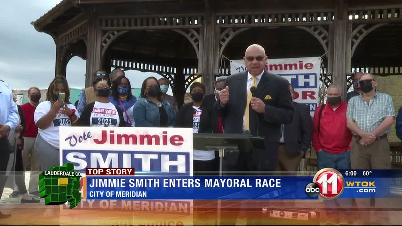 Jimmie Smith announces candidacy for Meridian mayoral race