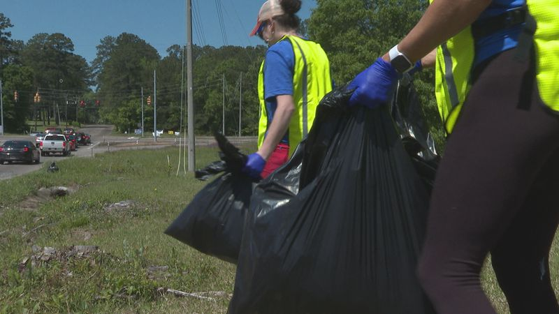National Volunteer Week is April 18-24 and some volunteers are pitching in to clean up Meridian.