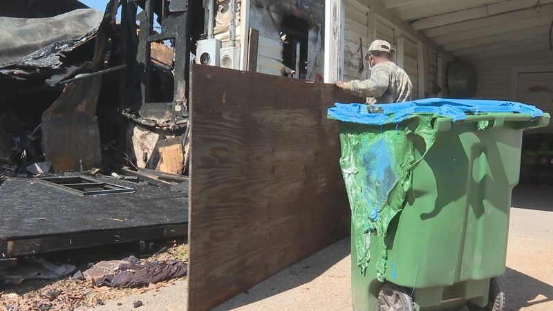 A Sunday night fire at an abandoned building in Meridian was handled by firefighters, but it...