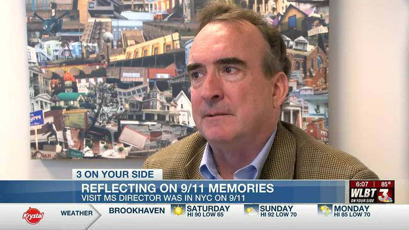 'It could've been us.' Visit Mississippi Director shares his 9/11 story of being in NYC that day