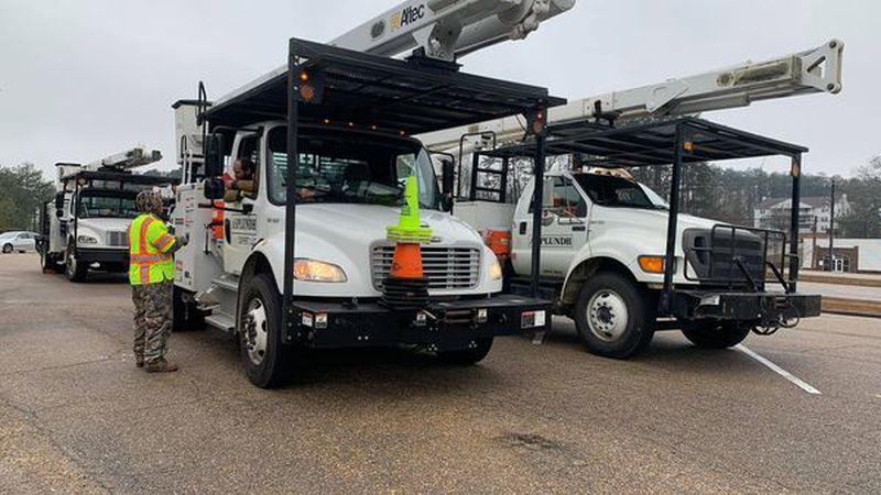 Crews are responding to outages.