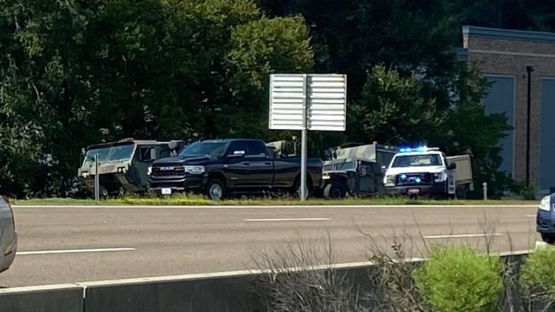 The crash happened on I-55, near I-220.