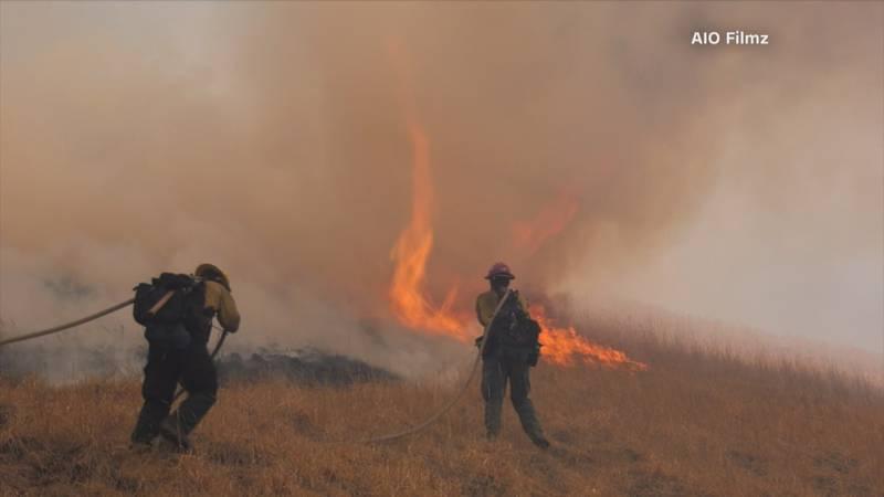'Salt Fire' in California