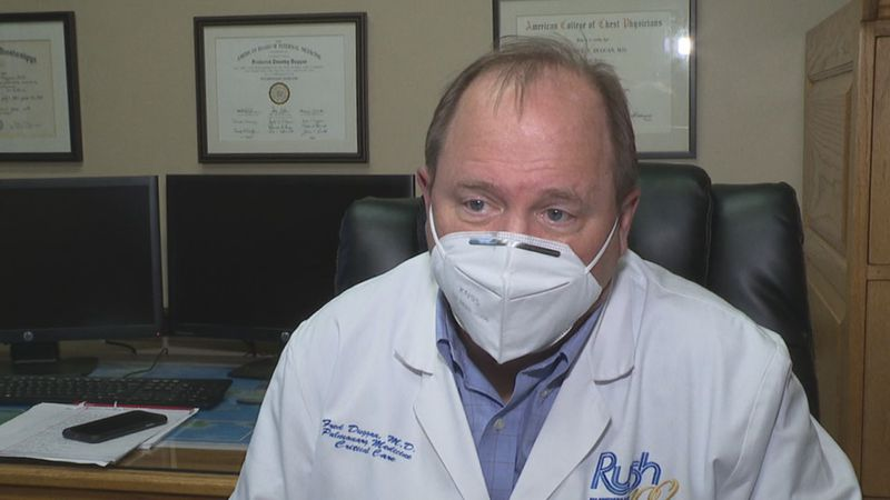 Rush Foundation Hospital's Chief Medical Officer Dr. Fred Duggan sat down with Newscenter 11 to...