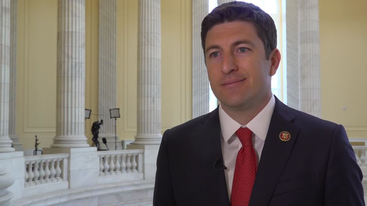 Rep. Steil discusses his bill to expand small business investment. The House will vote on the bill Tuesday. (Source: Gray DC)