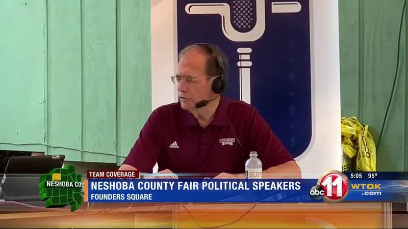 Political speakers meet at Neshoba County Fair