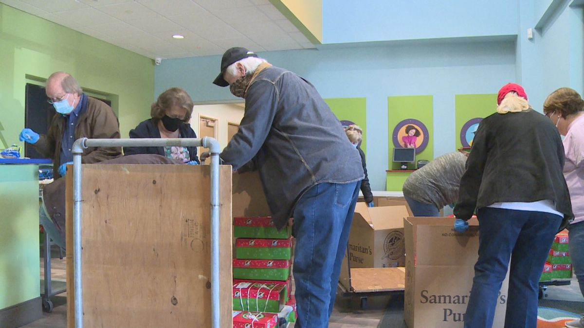 Northcrest Baptist Church is one of many organizations volunteering to package, sort, and...