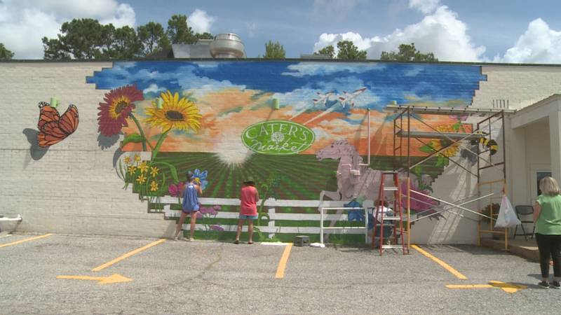 Cater's Market Mural