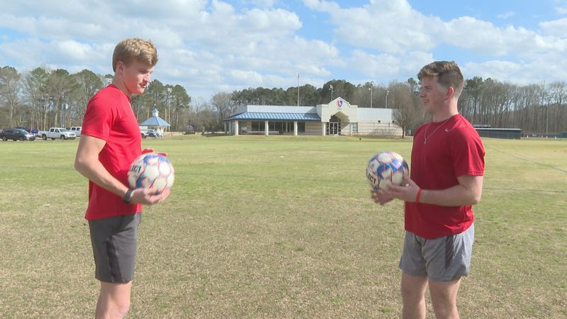 Lamar seniors Miller Hodge (left) and Ben Bryan (right) were chosen to compete for the White...