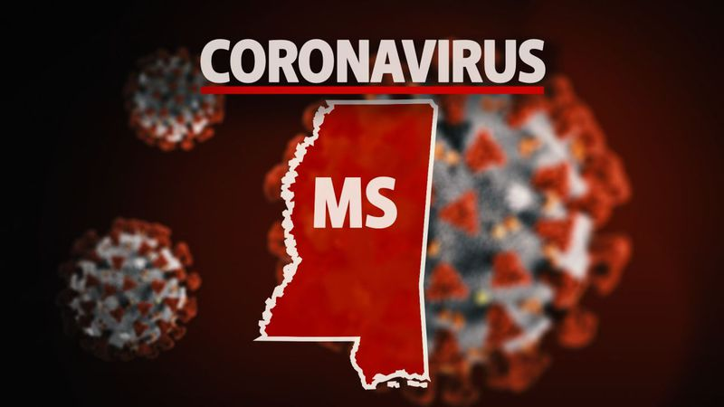 The Mississippi State Department of Health reports 2,342 COVID-19 cases, 55 additional deaths...