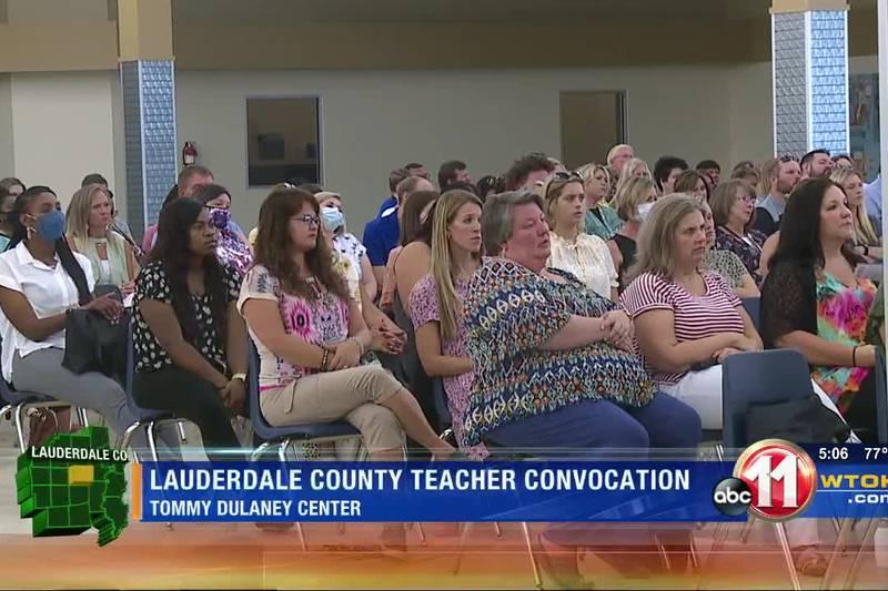 Lauderdale County teachers return to school