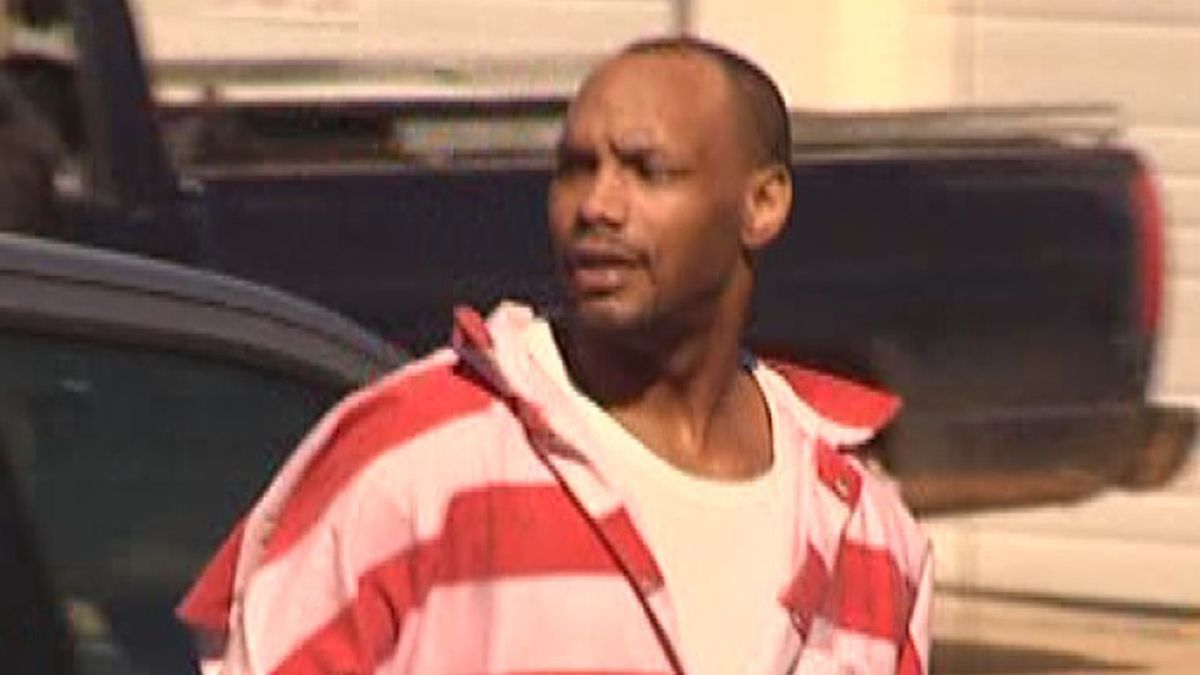 Marquis McNeely as he was escorted back to jail from a court hearing in 2010. (Source: WTOK)