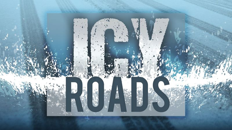 Road conditions will deteriorate as the weather system moves in and temperatures drop.