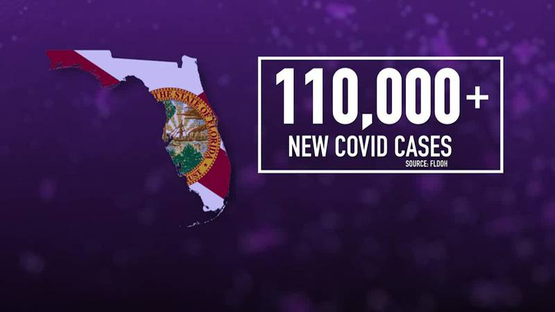 The debate is happening as more than 110,000 new COVID-19 cases were reported in Florida last...